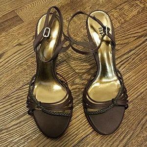 Brown/Gold BP Heels Size 9